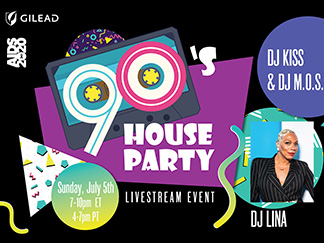 90s house party feature image